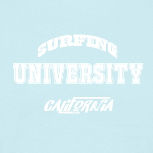 Universitaire Surfing T-shirt - Mannen T-shirt
