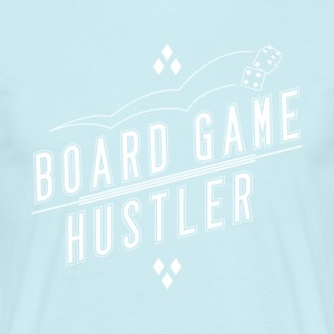 Board Game Hustler - T-skjorte for menn