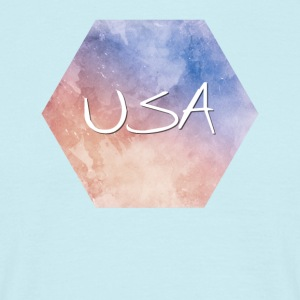 USA - USA - T-skjorte for menn