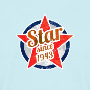 Gift for Stars born in 1943 - Men's T-Shirt