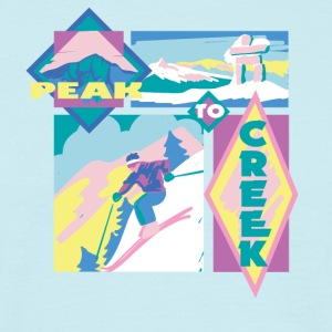 Peak to creek - Men's T-Shirt