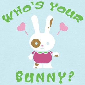 Easter Who's Your Bunny - Men's T-Shirt