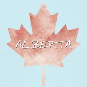 Alberta Maple Leaf - T-shirt herr