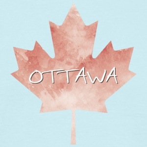 Maple Leaf Ottawa - Mannen T-shirt
