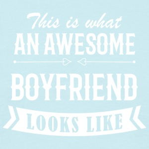 Awesome Boyfriend - T-skjorte for menn