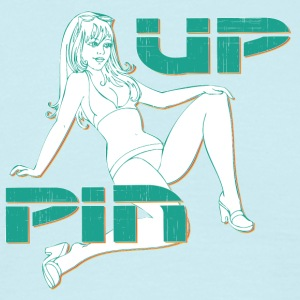 PIN UP HOT GIRL 2 - Herre-T-shirt