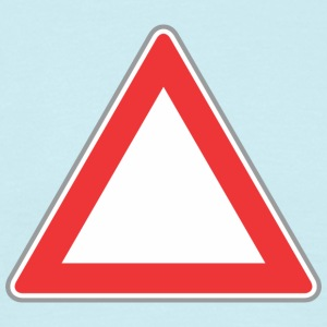 Road Sign Up triangle - Men's T-Shirt