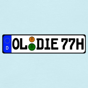 Oldies 77 historisch - Mannen T-shirt