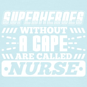 SUPERHEROES NURSE - Men's T-Shirt