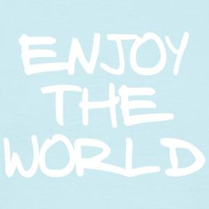 ENJOY THE WORLD - Men's T-Shirt