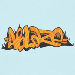 ablaze graffiti - Men's T-Shirt