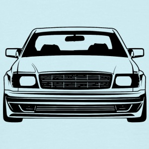 W126 coupe - Mannen T-shirt