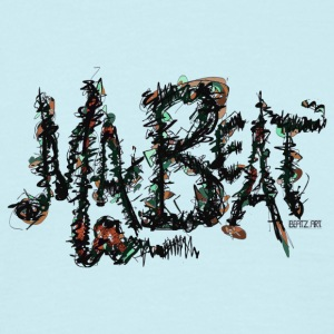MA BEAT brau- ARTwork by BEATZ.Art Schrift Design - Männer T-Shirt
