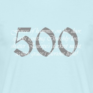 500 - T-skjorte for menn