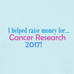Cancer Research 2017! - Mannen T-shirt