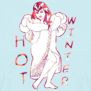 Hot Vinter - Herre-T-shirt