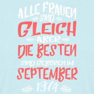 September_1974 - Männer T-Shirt