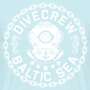 Divecrew Logo - Men's T-Shirt