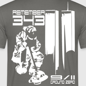 Remember 343 - 9/11 groud zero - Men's T-Shirt
