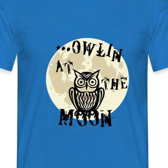 Owlin At The Moon