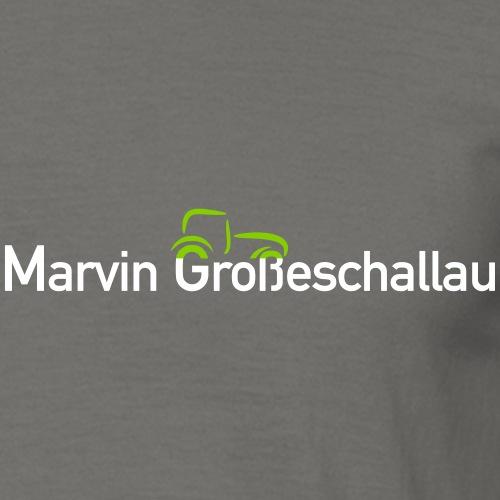 Marvin Grosseschallau Logo - Männer T-Shirt