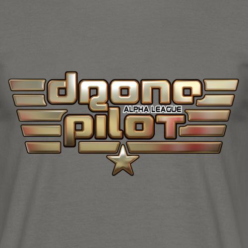 Drone Pilot Alpha League Emblem - Männer T-Shirt