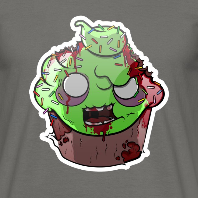 Cupake zombie couleur