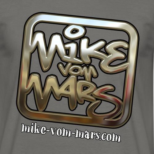 Mike vom Mars Logo - Chrome Edition - Männer T-Shirt