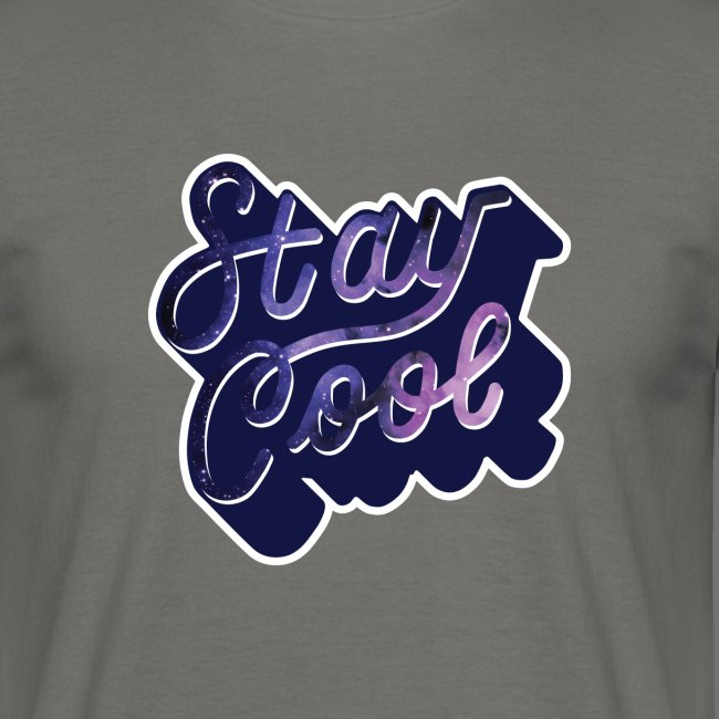 STAY COOL IN SPACE Tee Shirts