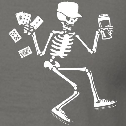 Skate drink poker - Mannen T-shirt