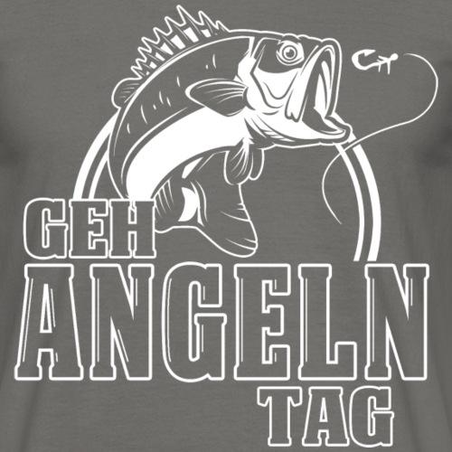 Geh Angeln Tag - Männer T-Shirt