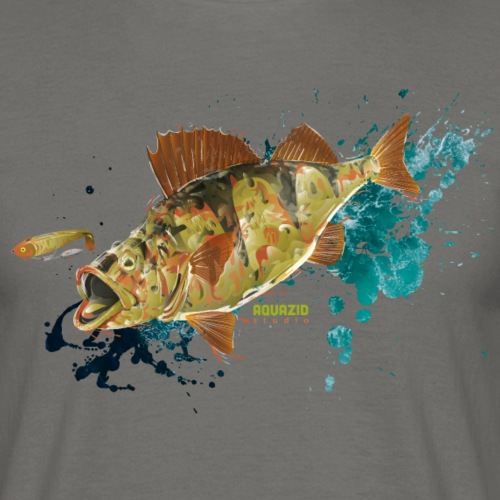 Camo Perch 1.1 - Men's T-Shirt