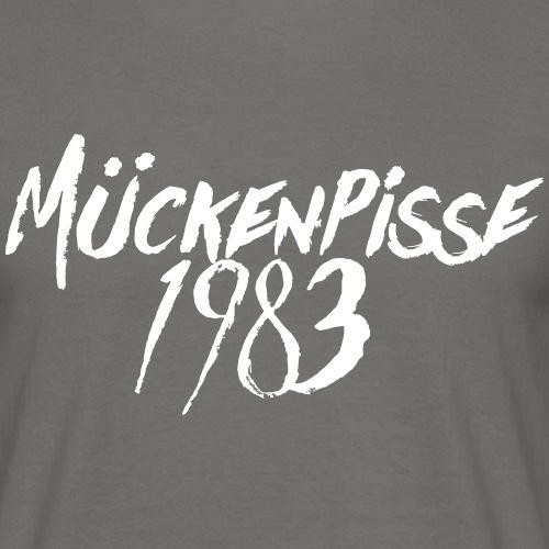 Mückenpisse T-Shirt Monster 1983 - Männer T-Shirt