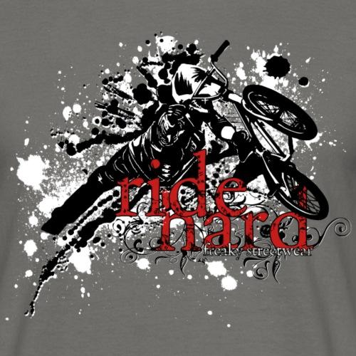 ride hard bmx - Männer T-Shirt