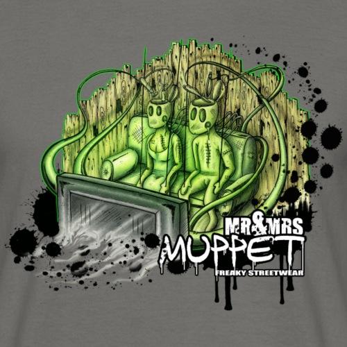 Mr & Mrs muppet - Männer T-Shirt