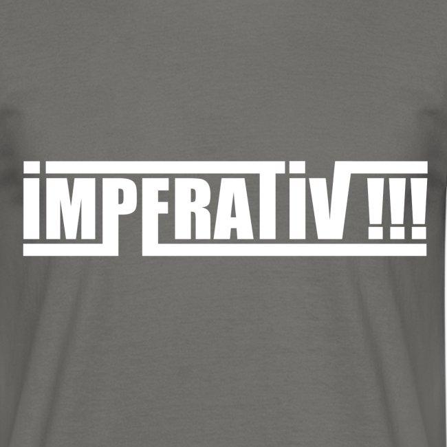 Imperativ (weiß)