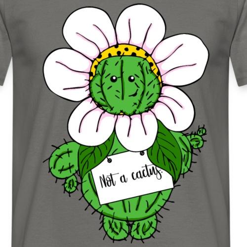 Not a cactus. - Männer T-Shirt