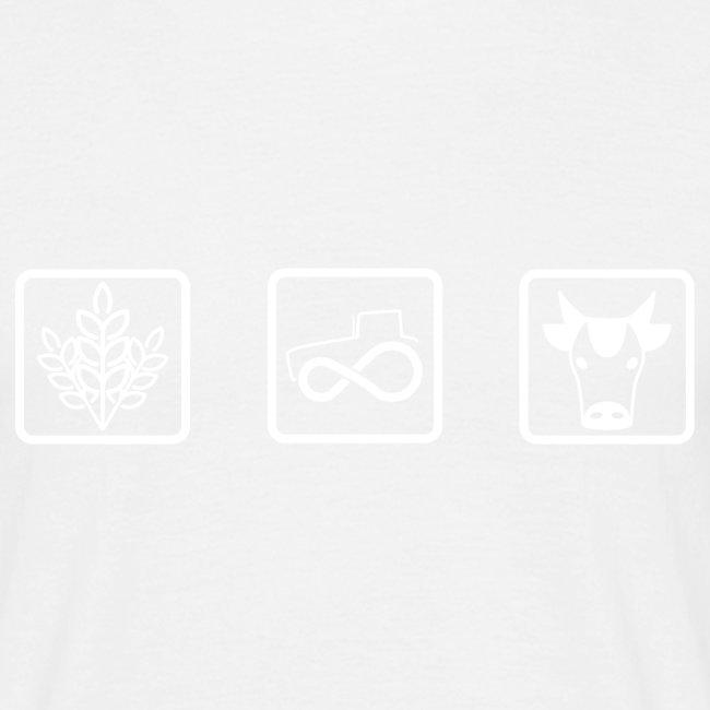 Farmer's icons WHITE