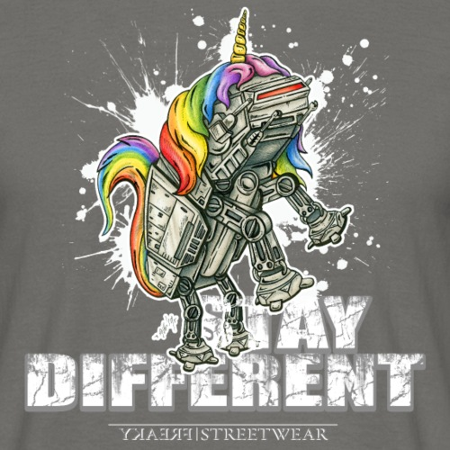Stay Different - Imperial Unicorn - Männer T-Shirt