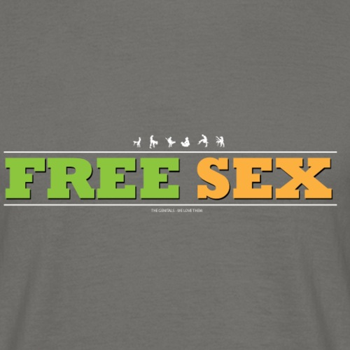 FREESEX1 - Herre-T-shirt