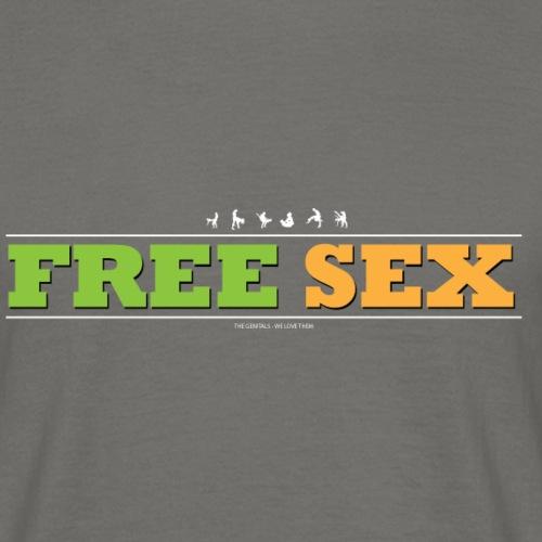 FREESEX1 - Herre-T-shirt