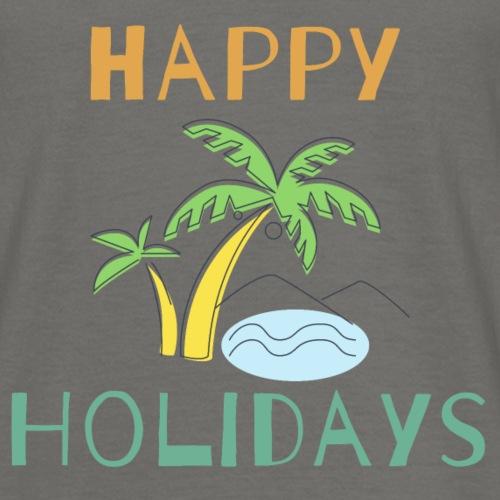Happy Holidays - Männer T-Shirt