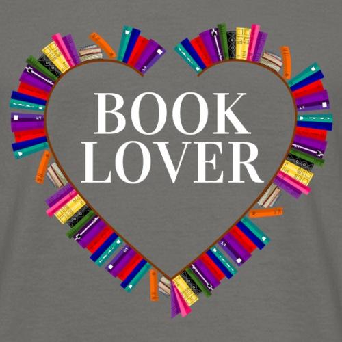 Book Lover - Männer T-Shirt
