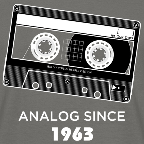 Analog since 1963 - Men's T-Shirt