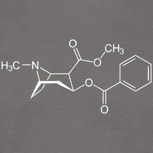Cocaine Chemical Formula - Men's T-Shirt