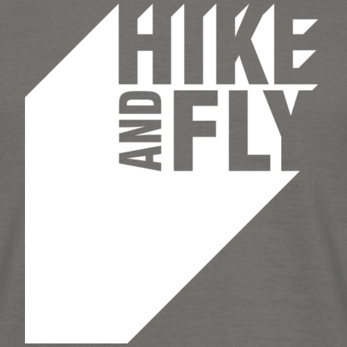 Hike and Fly Paragliding 3D - Männer T-Shirt