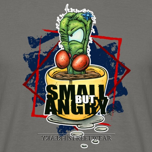 small but angry - Männer T-Shirt