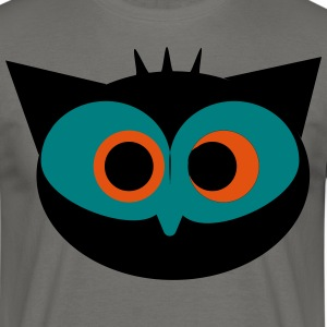 Crazy Owl - T-skjorte for menn