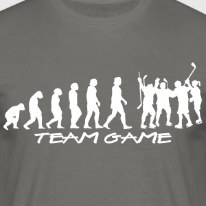 team_game - T-shirt herr