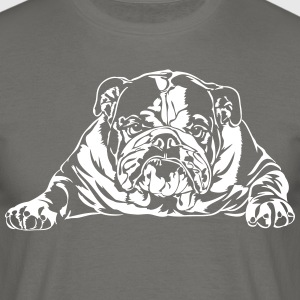 Bad English Bulldog - T-shirt Homme